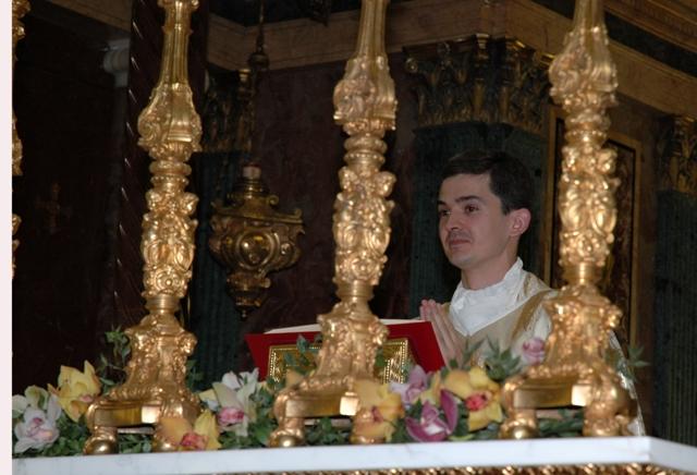 Andres Banos.Primera Misa De Andres Banos Tajamar