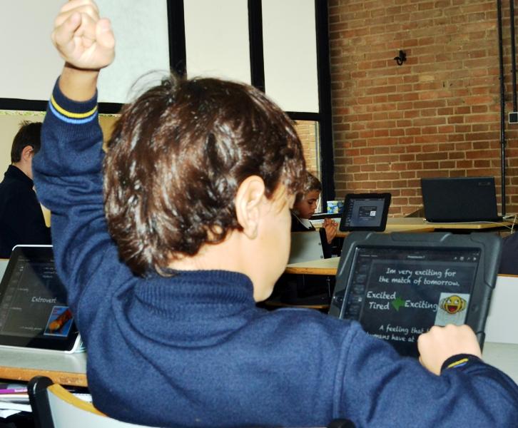 Quieres ver cómo es una clase con iPad? | Tajamar