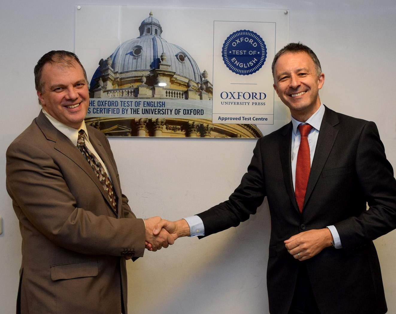 Oxford y Tajamar firman acuerdo para certificaciones en inglés