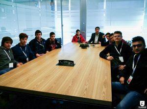 Los alumnos visitaron instituciones y empresas en la Jornada de Orientación.