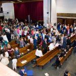 Primeras Comuniones. Los alumnos de Primaria celebran su Primera Comunión en el colegio Tajamar
