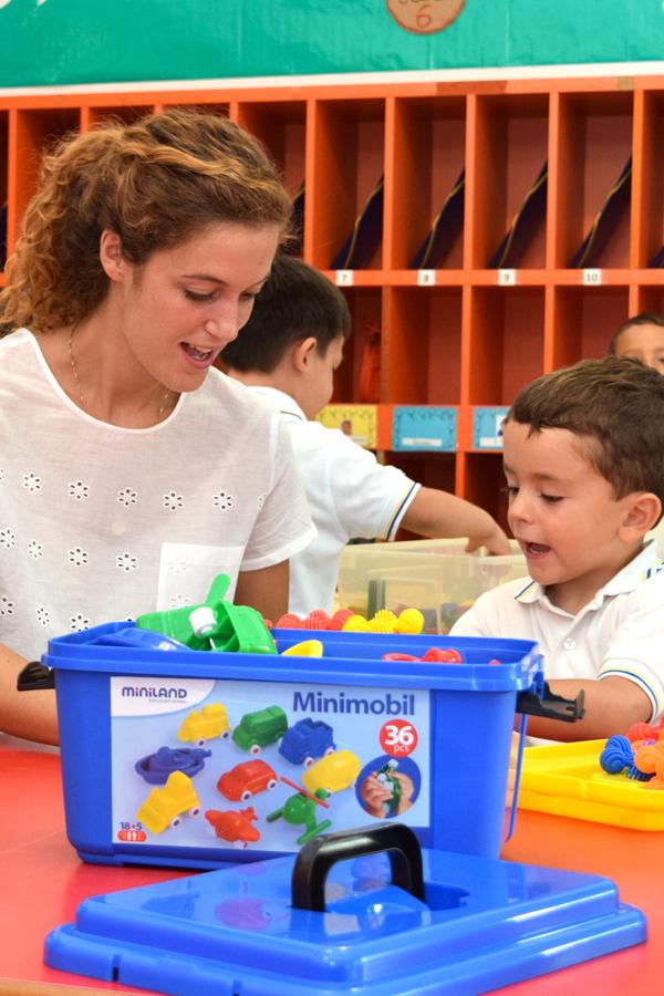 Aprendiendo en el colegio Infantil Tajamar