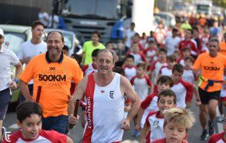 Fermín Cacho y Miguel Hernández corren el primer relevo de los 500km