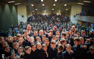 Concierto del Coro de Tajamar en su colegio.