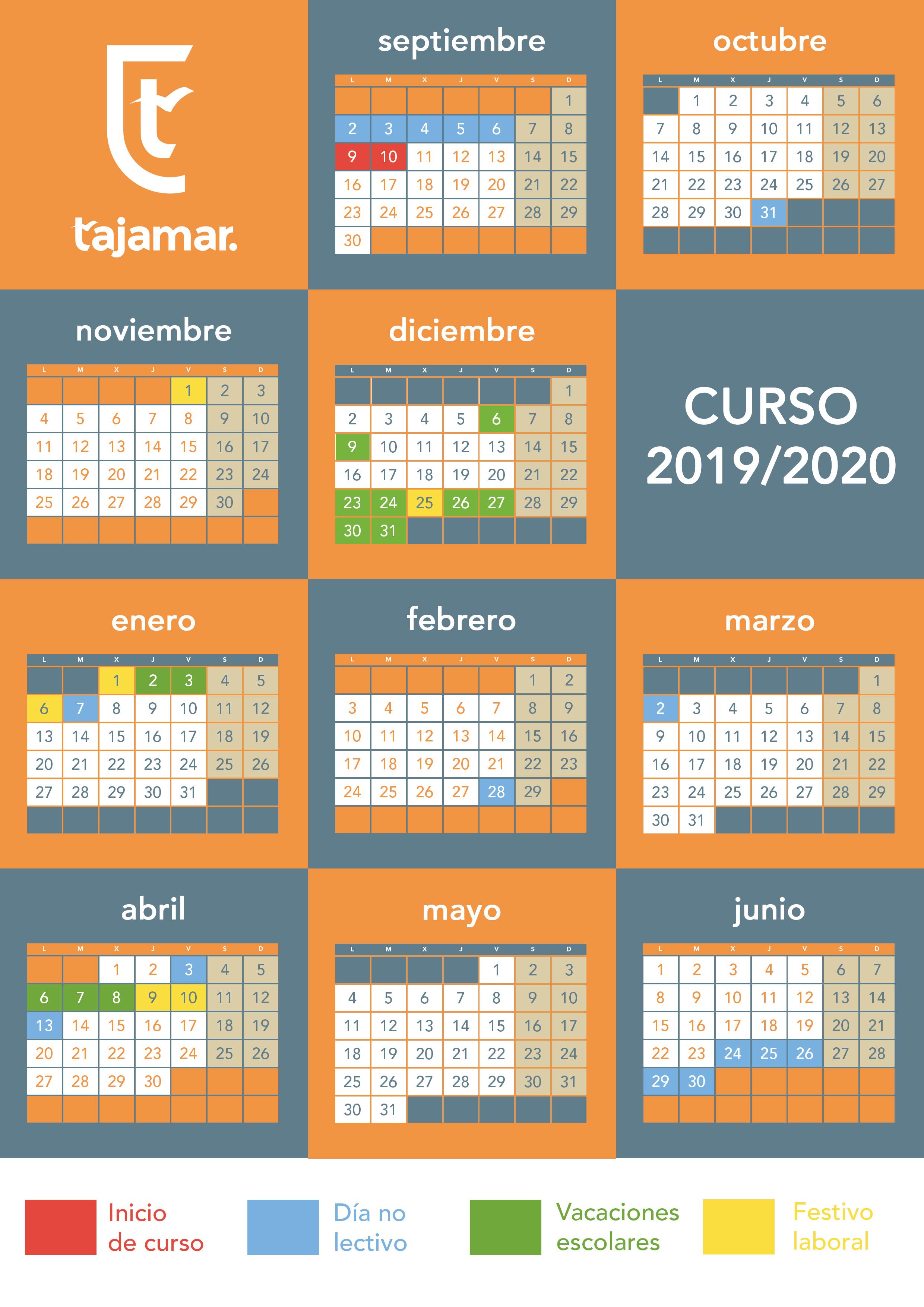 Calendario Escolar 2020 Madrid.Todo Lo Que Necesitas Saber En El Inicio Del Curso 2019 2020