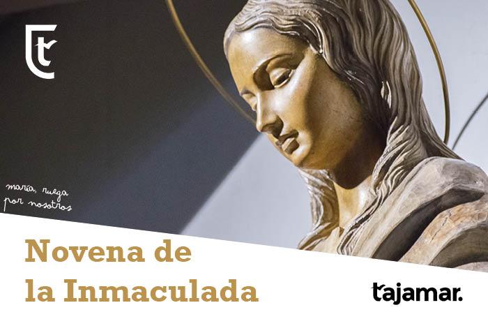 Cartel de la Novena de la Inmaculada 2019. Tajamar