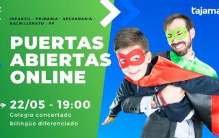 puertas abiertas online colegio concertado bilingüe