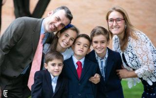 Alegría familiar en la Primera Comunión