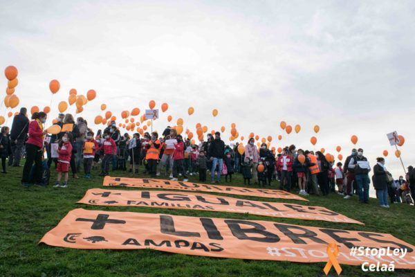 Familias dicen stop ley celaá