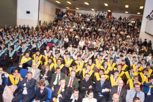 Alumnos graduados en Tajamar, un Bachillerato concertado en Madrid