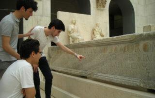 Bachillerato humanidades museo arqueológico